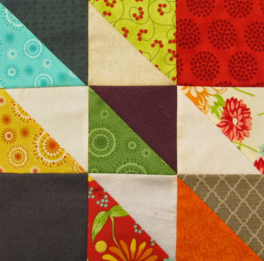 how to piece a quilt block Autumn Trials Quilt Pattern Tutorial