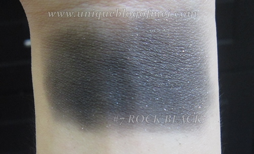 Glam Rock Urban Shadow #7 (Rock Black) swatches