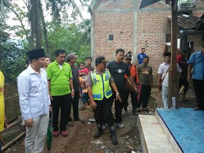 Wabup Arifin Tinjau Bencana Tanah Retak Kertosono Panggul