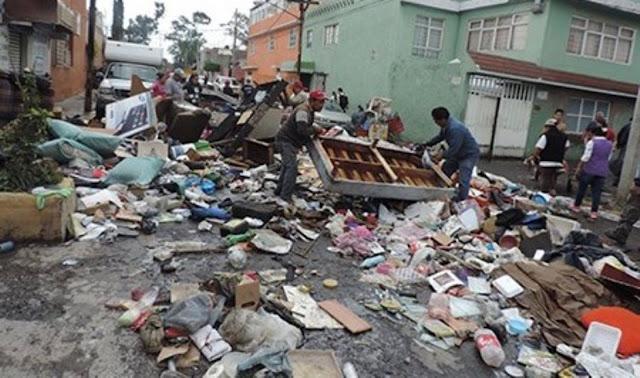 En México también hay desastres por las inundaciones...y no mandan ayuda, nadie dice nada.