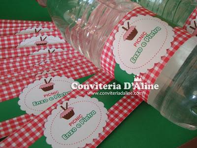 rótulos personalizados picnic