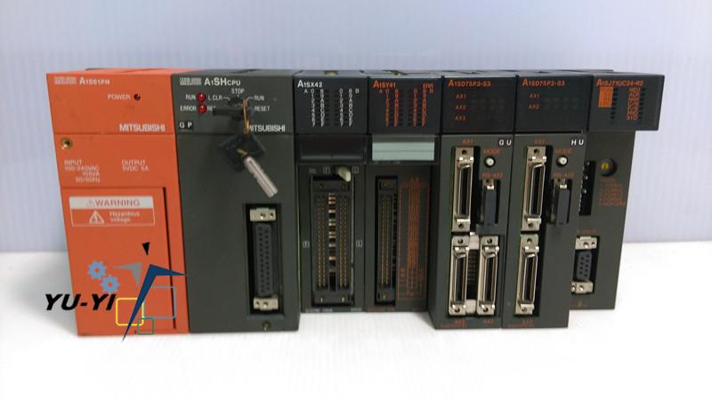 MITSUBISHI PLC:MELSEC A1S61PN/A1SHCPU/A1SX42/A1SY41/A1SD75P3-S3/A1SD75P2-S3/A1SJ71UC24-R2