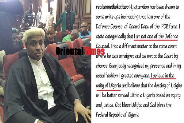 How Nollywood Actor, Kenneth Okonkwo Comes Under Attack After Publicly Denouncing Nnamdi Kanu And Biafra (Snapshots)