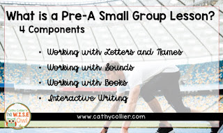 Jan Richardson developed the Pre-A to prepare kindergartners for guided reading with a routine and meaningful structure. This post steps it out for you.