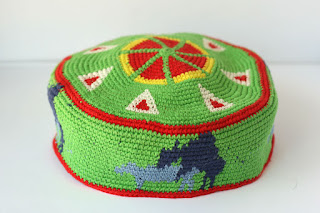 Tapestry crochet hat caws by TomToy