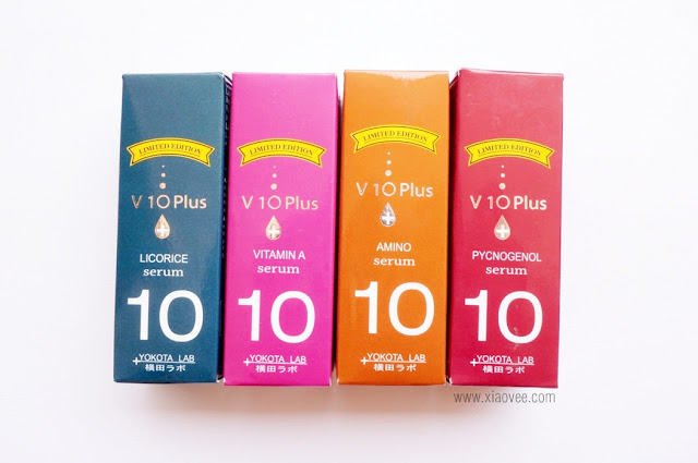 V10 Plus review, V10 Plus Serum Review, V10 Plus Serum Licorice Review, V10 Plus Serum Vitamin A Review, V10 Plus Serum Amino Review, V10 Plus Serum Pycnogenol Review
