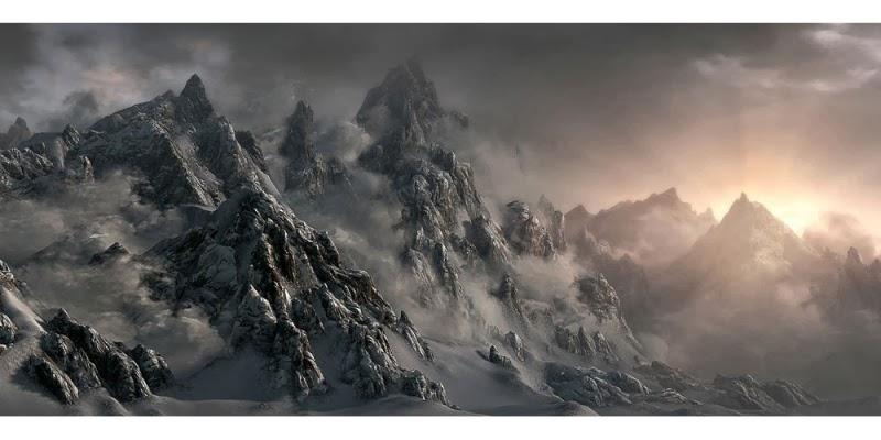 Concept Art: The Elder scrolls Skyrim