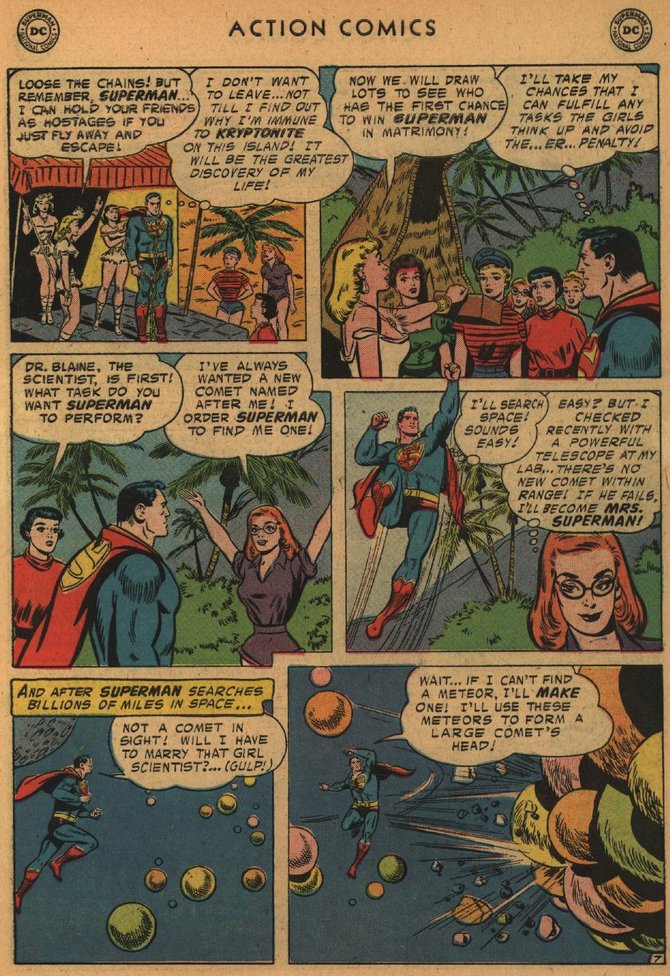 Read online Action Comics (1938) comic -  Issue #235 - 9