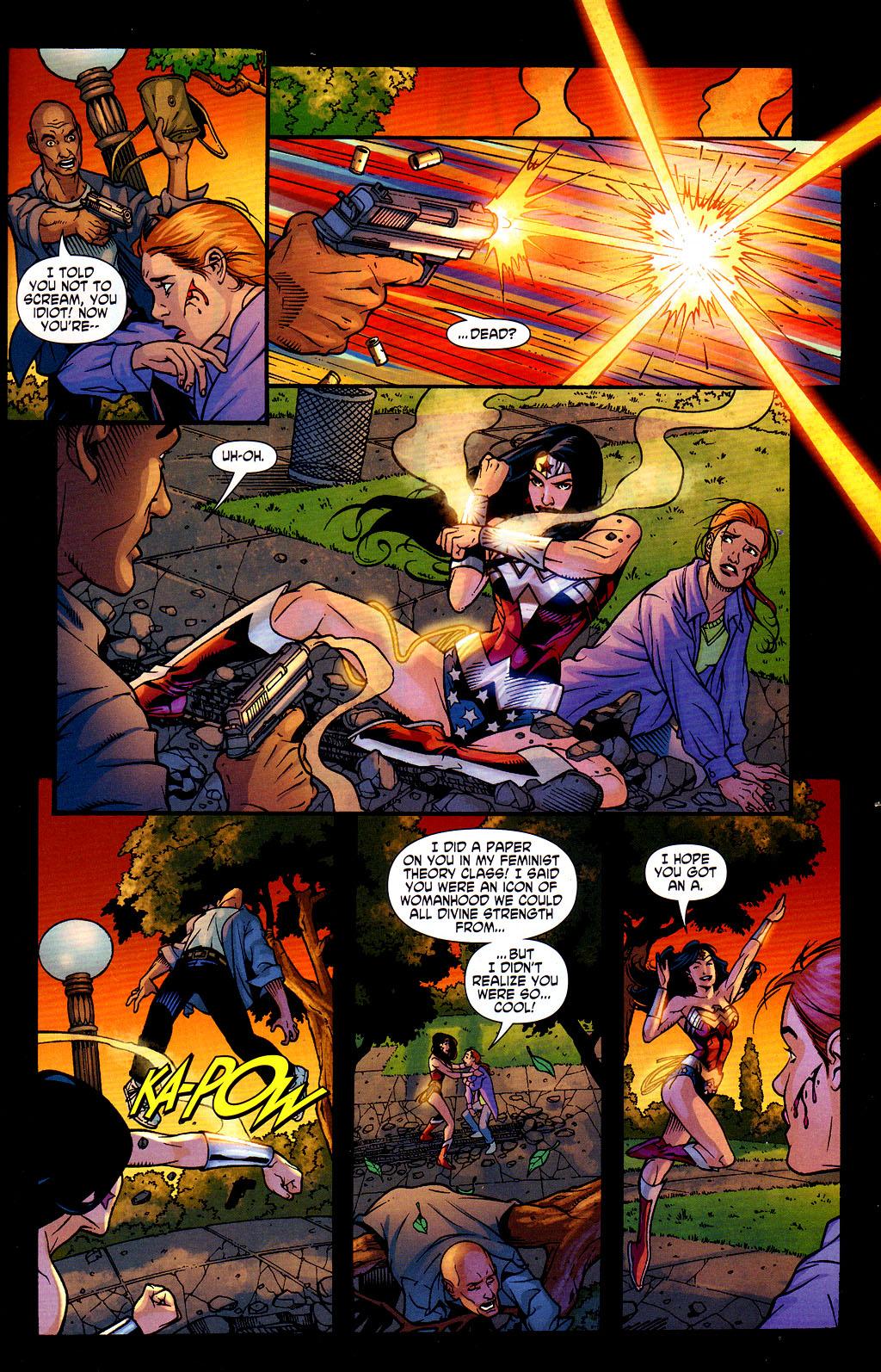 Read online Wonder Woman (2006) comic -  Issue #6 - 14