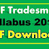 CISF Tradesman Syllabus 2017 PDF Download