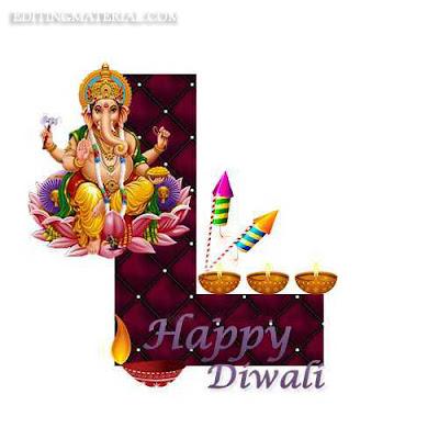 Happydiwali L name image