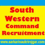 South Western Command Recruitment
