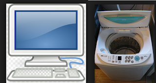 Computer and Washing Machine