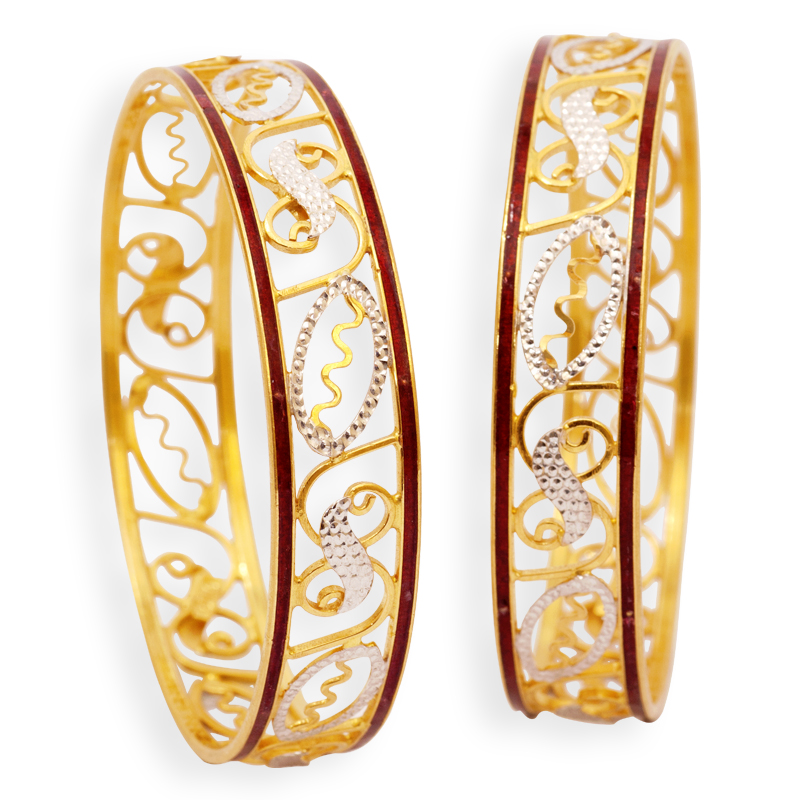 Latest Gold Bangle Design 2013-14 ~ All Info A To Z