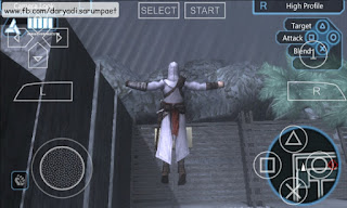 assassins creed bloodlines psp game leap of fate