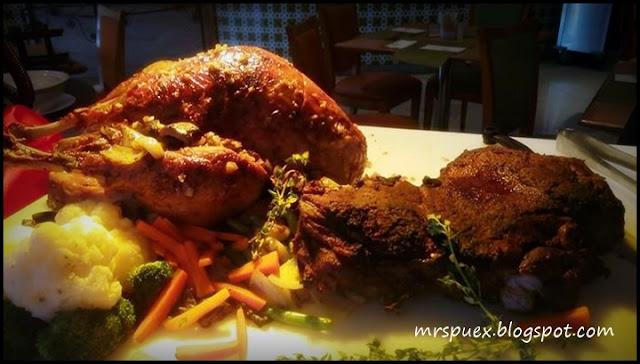 menu krismas - the royale bintang kuala lumpur
