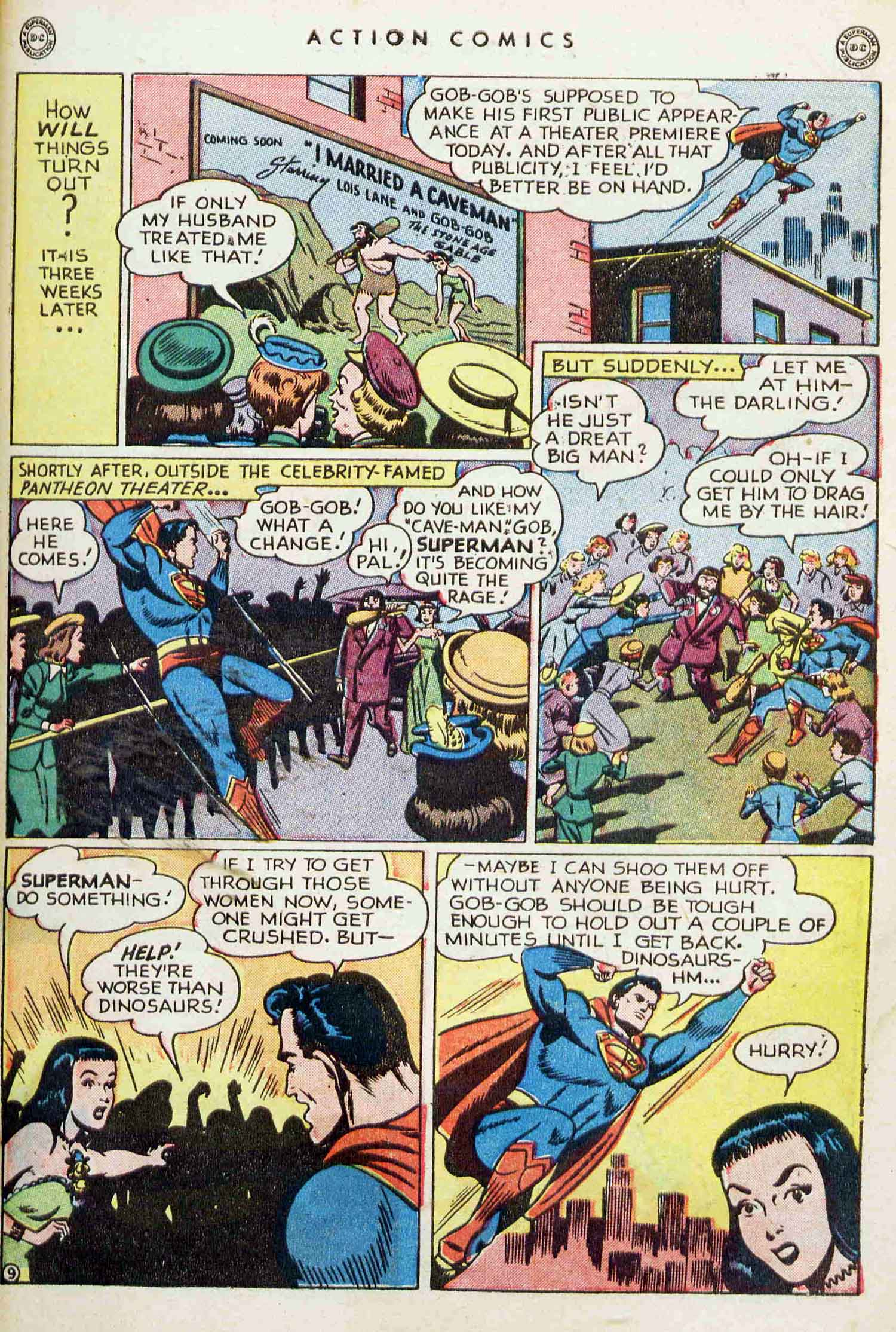 Read online Action Comics (1938) comic -  Issue #129 - 10
