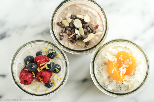 3 ways to make on the go breakfast