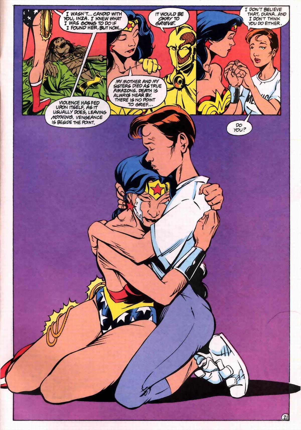 Read online Wonder Woman (1987) comic -  Issue #76 - 21