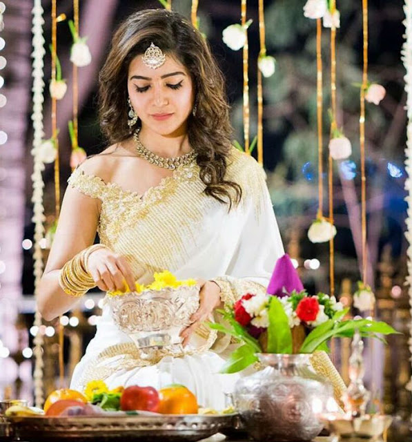 samantha chaithanya engagement pic