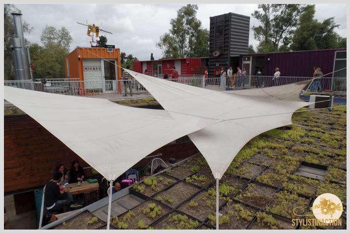 Maschwitz by stylistinaction - cubiertas en telas tensadas - velas de barcos - techo verde