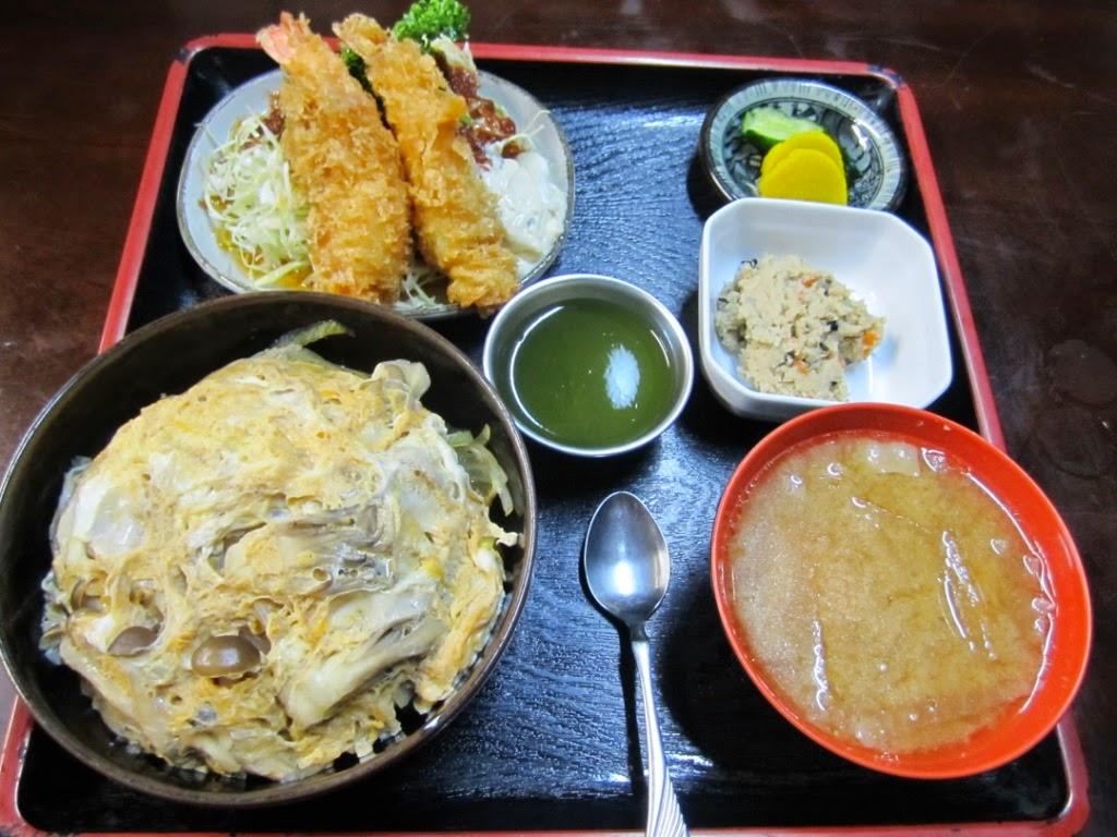 Mushroom Rice Ebi Fry Set Kinoko Don Miki キノコ丼エビフライ付 食事処味喜