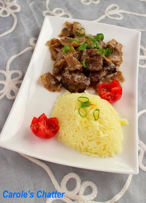 Slow Cooker Beef Curry by Carole's Chatter