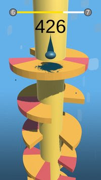 لعبة Helix Jump مهكرة للأندرويد - تحميل مباشر