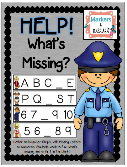 http://www.teacherspayteachers.com/Product/Help-Whats-Missing-Help-the-Community-Helper-Find-the-Missing-NumberLetter-1414940
