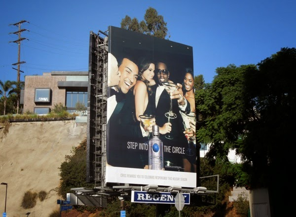 Ciroc Vodka Step into the circle billboard