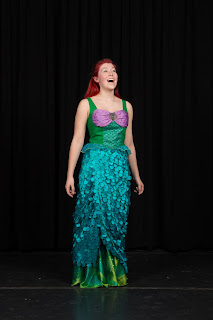 Franklin's Madi Asgeirsson plays Ariel (Phil Fox Photography)