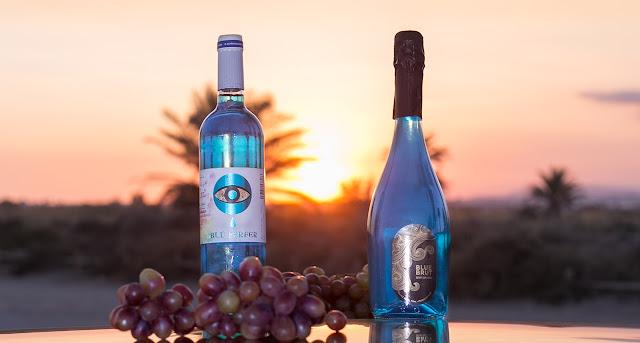 Un post solo para amantes del buen vino: Prueba el nuevo Blu Perfer Chardonnay y el Blue Brut Desert Explosion.