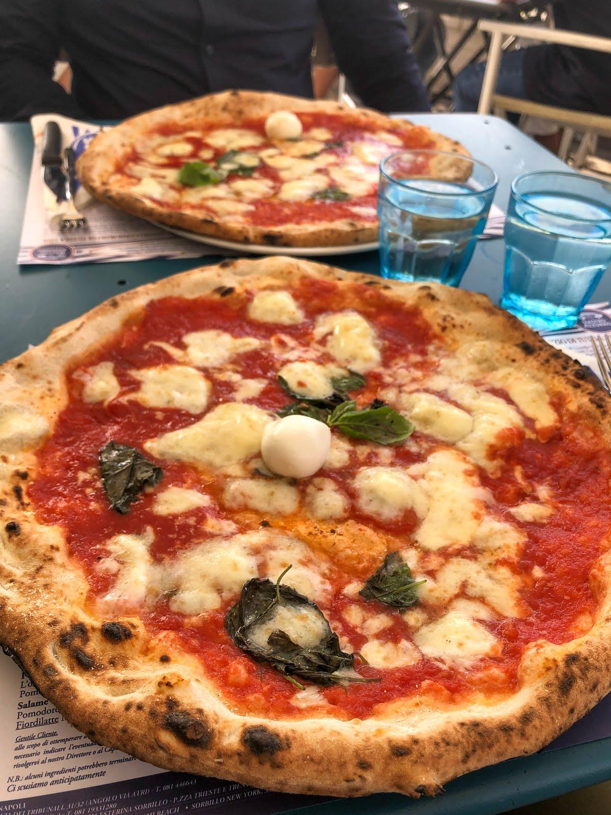 pizza Gino Sorbillo food blogger