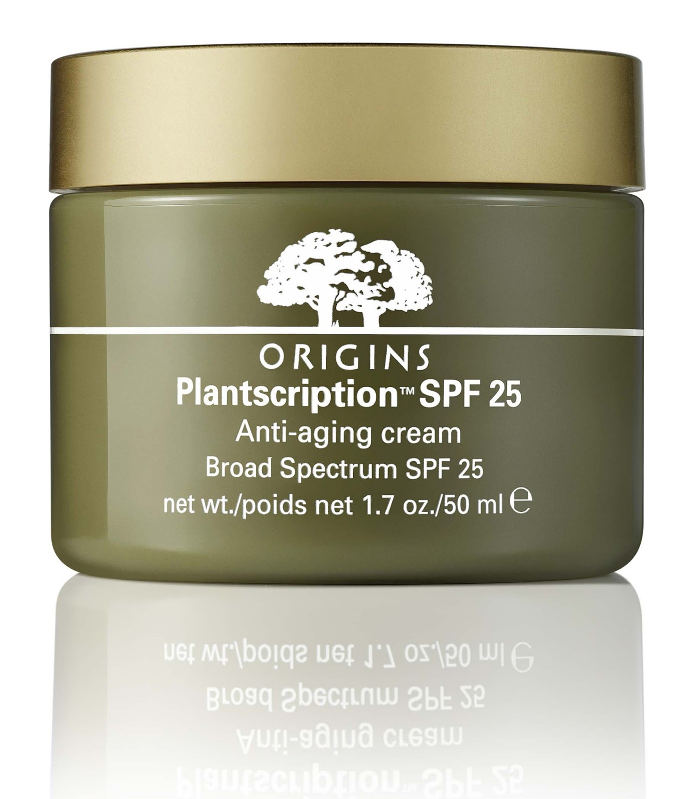 Plantscription SPF 25 Anti-aging Cream. Ideal para tu piel.
