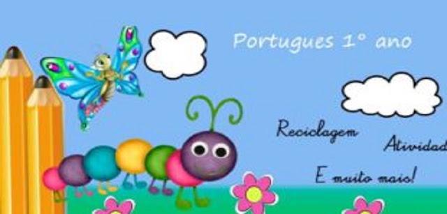 Português para 1° ano do ensino fundamental