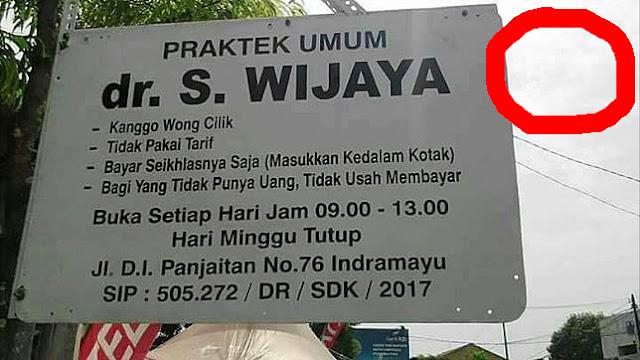Viral!!! Dokter Wong Cilik Yang Tak Mau Di Bayar. Alasannya bikin gemetar..