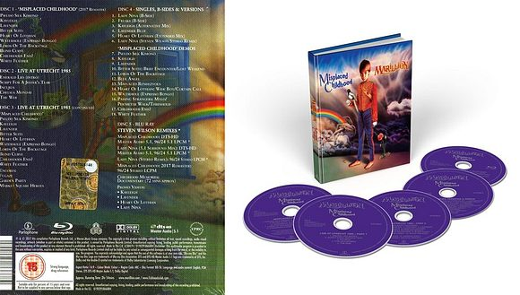 MARILLION - Misplaced Childhood [Deluxe Edition remastered 2017] back