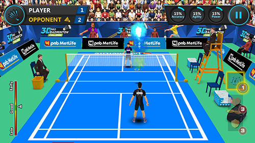 3D Pro Badminton Challenge Game Badminton Android