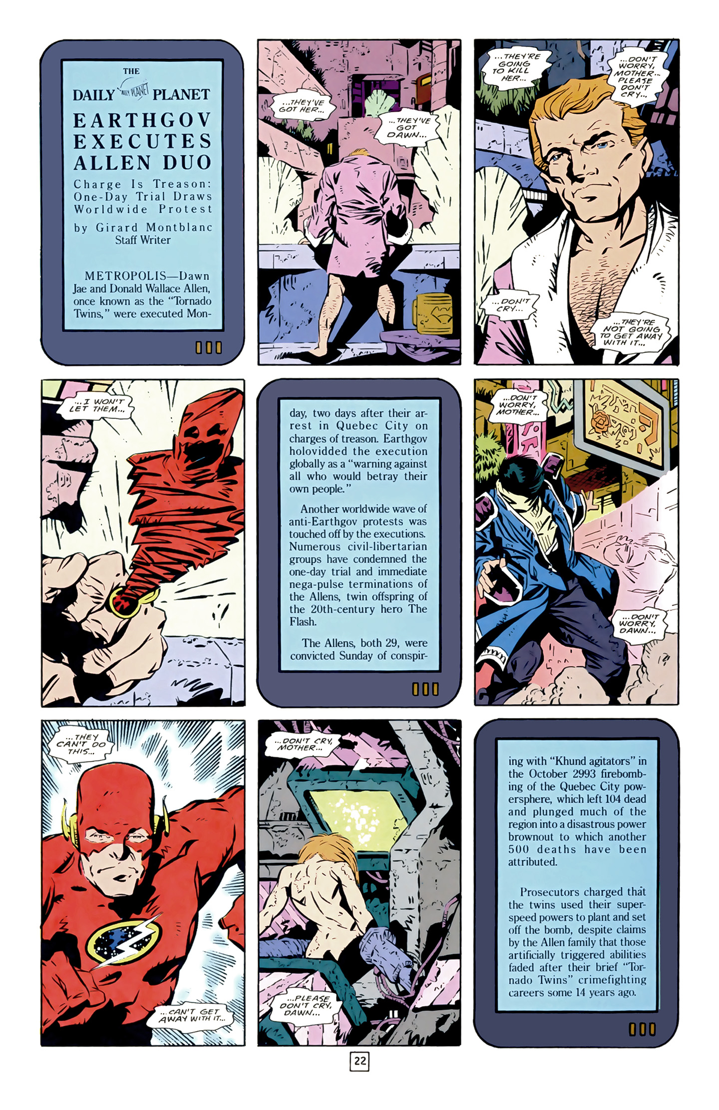 Legion of Super-Heroes (1989) 17 Page 22