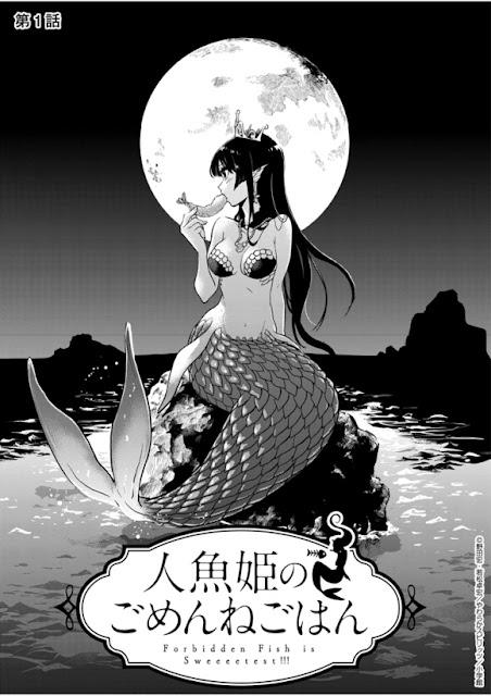 Manga Gourmet transforma Sereia em uma Canibal