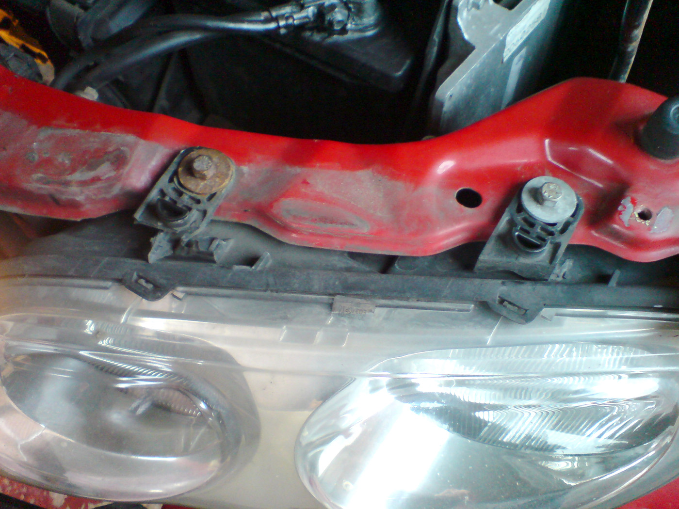 MG ZR Headlights Fitted | MG Rover 25 Build Blog