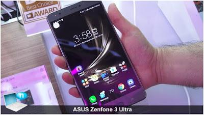 Asus Zenfone 3 Ultra với Samsung Note 5