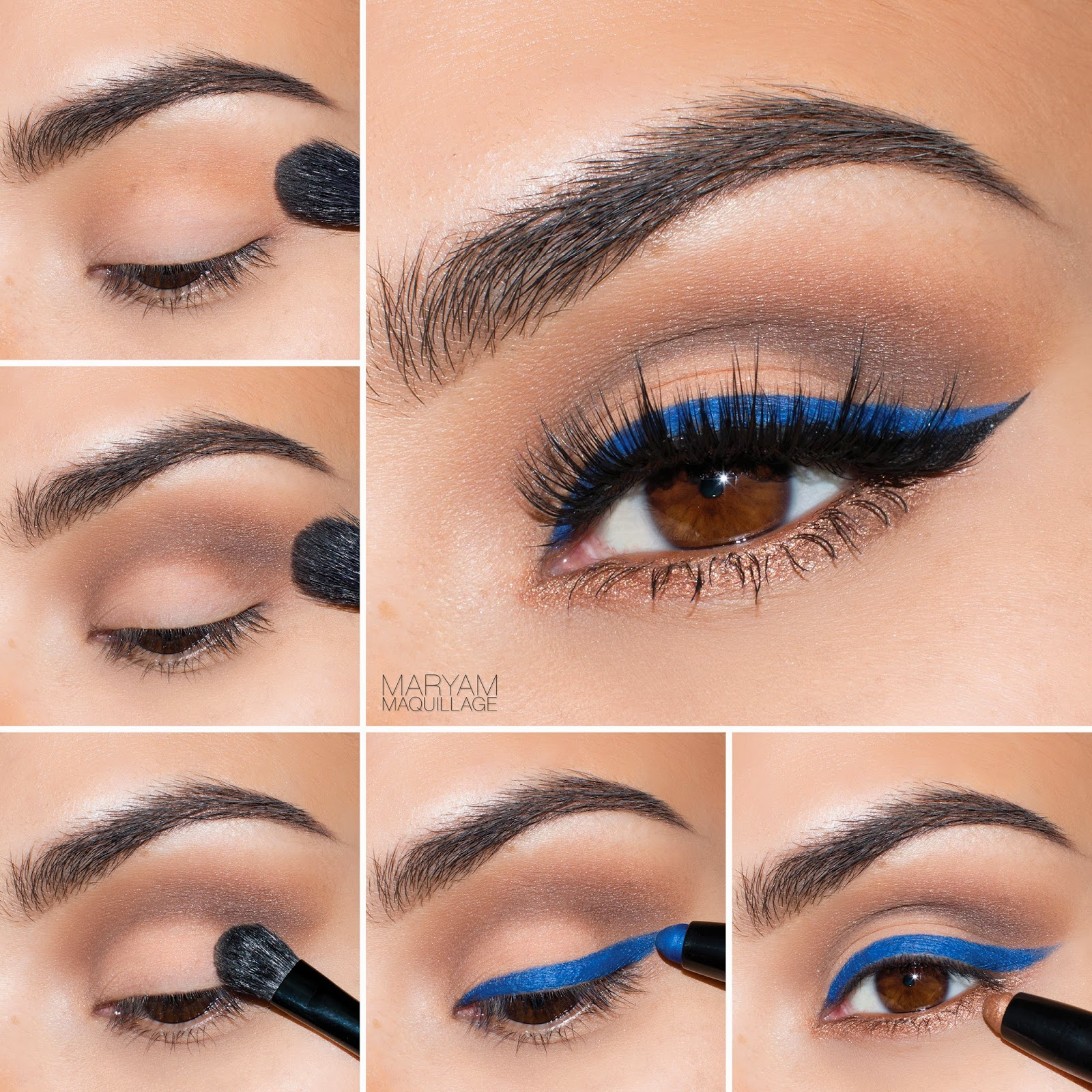 Maryam Maquillage Quot Pop Of Blue Quot Cat Eye Spring Makeup
