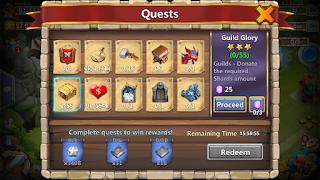 Cara Mudah Dapat Banyak Gems Castle Clash