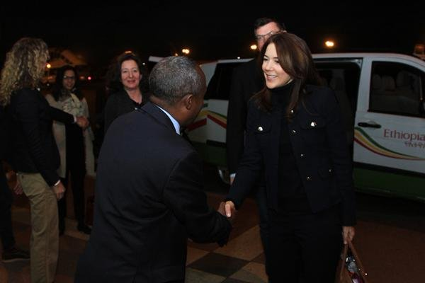 Princess Mary is Monday the country in the Ethiopian capital Addis Ababa.
