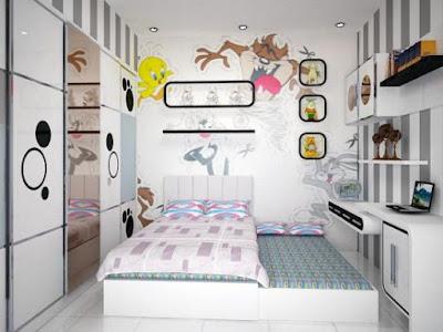 Trick Dalam Mendesain Interior Kamar Untuk Anak