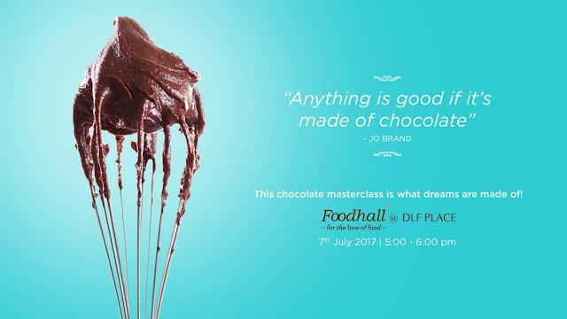 World Chocolate Day Masterclass @ Foodhall DLF