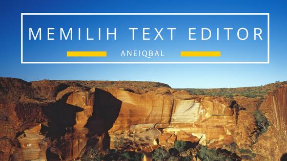 Teks Editor yang Dipakai untuk Ngoding HTML