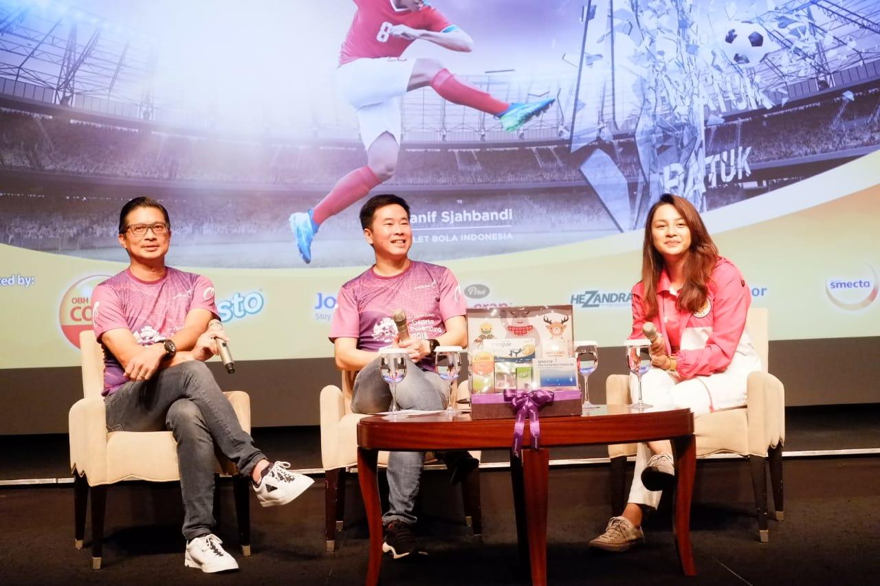 Kampanye Indonesia Kalahkan Batas oleh Combiphar, Official Supplier Asian Games 2018