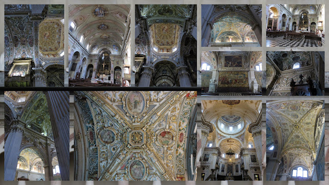 Weekend City Break in Bergamo Italy: Church Interiors